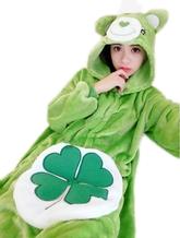 Кигуруми - Зеленый мишка с клевером