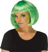Инопланетяне - Зеленый парик инопланетянки