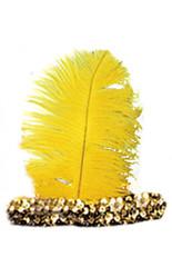 Гангстеры и мафия - Желтая повязка на волосы