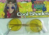 Ретро и Гангстеры - Желтые хипповые очки