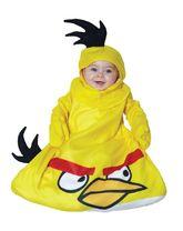 Животные и зверушки - Желтый костюм Angry Birds малышей