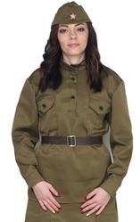 Военные и Милитари - Женская военная гимнастерка
