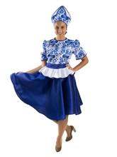 Русские народные - Женский костюм Гжель