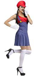 Герои видеоигр - Женский костюм Марио