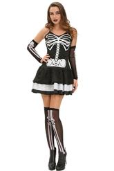 Скелеты - Женский костюм Скелета