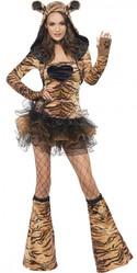 Леопарды и тигры - Женский костюм тигрицы