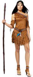 Ковбои и Индейцы - Женский костюм вождя племени
