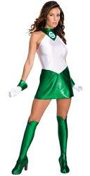 Супергерои - Женский костюм Зеленый Фонарь