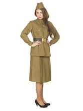 Военные и Милитари - Женский военный костюм с юбкой