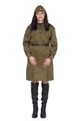 Военные и Милитари - Женский военный костюм