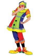 Клоуны - Женский яркий костюм клоуна