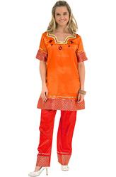 Индийские танцы - Костюм Жительница Индии