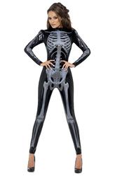 Скелеты и Зомби - Костюм Живой скелет