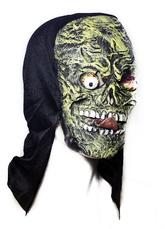 Темные силы - Жуткая латексная маска с языком
