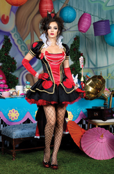 Костюмы на Хэллоуин - Костюм Злая королева из страны чудес
