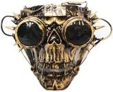 Мертвецы - Золотая маска Скелет Стимпанк