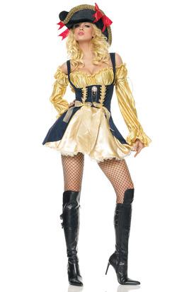 Золотая пиратка