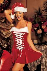 День рождения Деда Мороза - Костюм Золотая помощница Санты