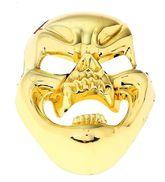 Зомби и Призраки - Золотистая маска смеющегося черепа