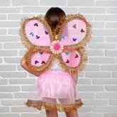 Пчелки и бабочки - Золотистый набор Бабочки для девочки
