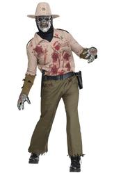 Скелеты и мертвецы - Костюм Зомби-коп