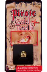 День подражания пиратам - Зуб пирата золотой