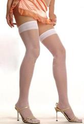 Женские костюмы - Белые чулки