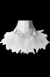Go-Go костюмы - Белый мини-подъюбник