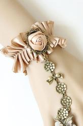 Браслеты и ожерелья - Браслет с розой