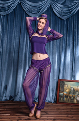Восточные танцовщицы - Костюм Джин из лампы