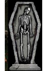 Декорации - Надгробная плита Скелет