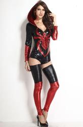 Супергерои и комиксы - Костюм Храбрая женщина-паук в красном