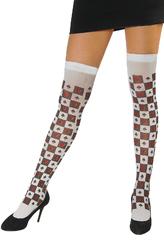 Женские костюмы - Карточные чулки