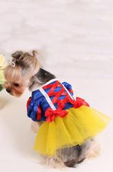 Костюмы для собак - Костюм Костюм для собачки Минни Белоснежка