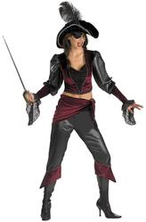 Пиратки - Костюм Озорная пиратка-красотка