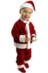 Костюмы для малышей - Малыш Санта