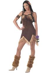 Ковбои и Индейцы - Костюм Смелая девушка-индеец