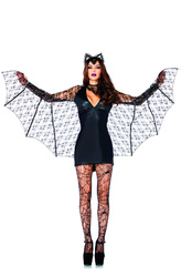 Животные и Звери - Летучая мышь с крыльями