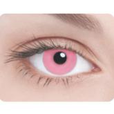 Ресницы и линзы - Линзы Розовый глаз
