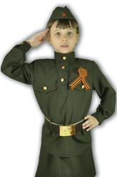 Солдат - Костюм Маленькая фронтовичка