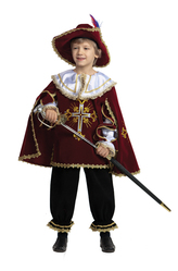 Исторические костюмы - Костюм Маленький королевский мушкетер