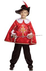 Мушкетеры - Костюм Отважный мушкетер в красном