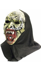 Латексные маски - Маска кровожадного оборотня