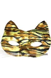 Карнавальные маски - Маска Тигрица