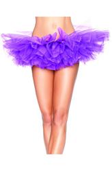 Подъюбники и юбки - Многослойная фиолетовая юбка