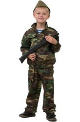 Солдат - Костюм Неустрашимый солдат