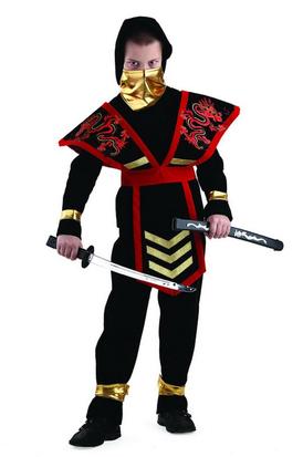 Ниндзя мастер красный