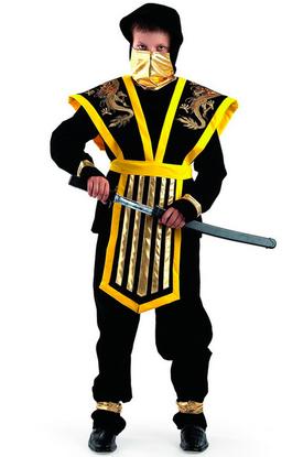 Ниндзя мастер желтый