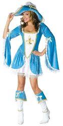 Мушкетеры - Костюм Пиратка голубой лагуны