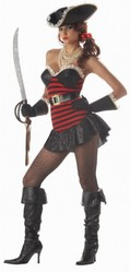 Женские костюмы - Пиратская дива